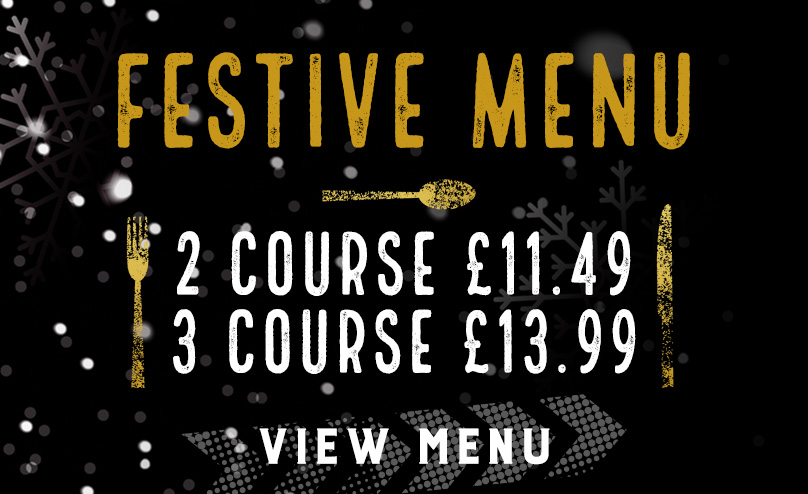 Festive Menu at The Red Lion
