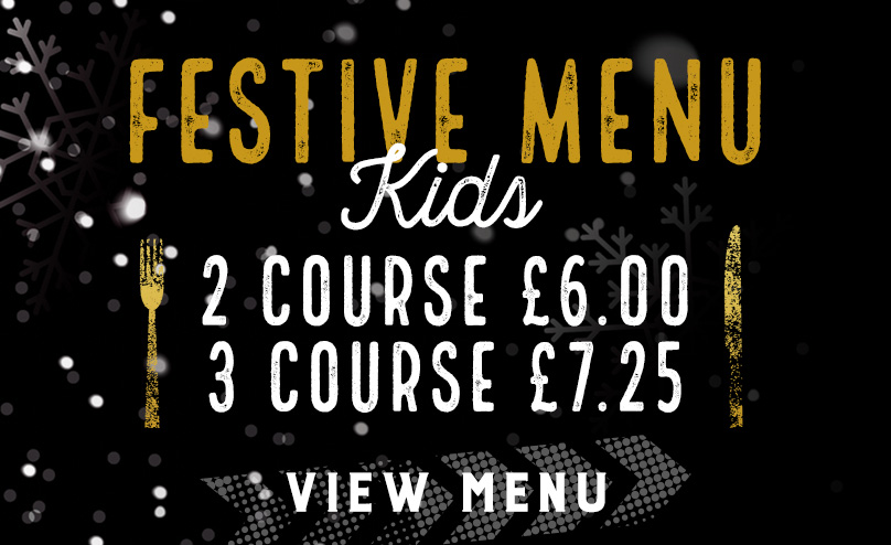 Kids Festive Menu at The Red Lion